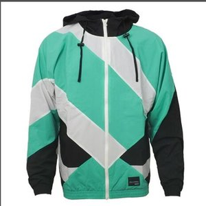 Men's new hooded casual sports jacket clover classic men's EQT fashion jacket