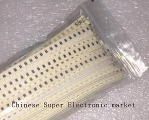 1% SMD 0805 Resistors 10R 910K Ohm 80Valuesx25Pcs= 2000PCS, Sample Kit