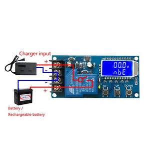 1pc Módulo de control de carga 30A Pantalla LCD de almacenamiento Cargador de batería de litio Interruptor de control Junta de protección 6-60V