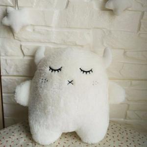 cute angel rabbit Little devil plush toy doll children room decoration