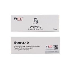 Evolve D Kiti Için 100% Otantik Yocan Evolve D Çift Bobin Buharlaştırıcı Yedek Bobin Kafası Elektronik Sigaralar