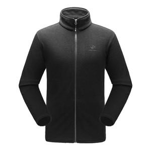 솔리드 컬러 Mens Thermal Fleece Jacket 남성용 Full Zip Long Sleeve Lightweight Casual Bodywarmer Coat Outdoors 폴라 플리스 자켓