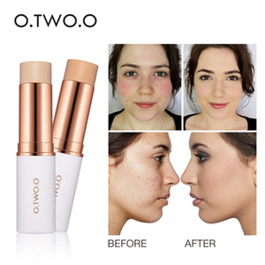 O.TWO.O Magical Concealer Stick Foundation Makeup Full Cover كونتور الوجه كونسيلر كريم الأساس التمهيدي مرطب إخفاء العيب