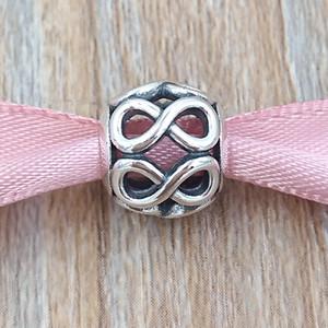 Authentique Argent 925 perles Infinite Shine Fits Pandora Bijoux Bracelets style européen Collier 791872