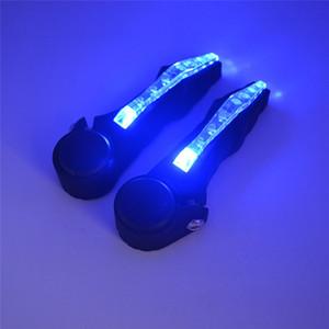 T1 Bicicleta Guidão Guia Turn Signal Indicator Luzes Luz de Aviso de Segurança LED Acessórios de Luz RetailWholesale Frete Grátis