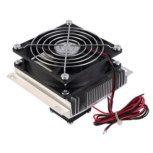 Freeshipping Thermoelectric Peltier Refrigeration Cooling Cooler Fan System Heatsink Kit