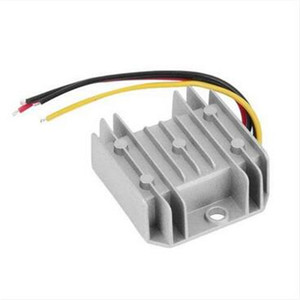 Free shipping Wholesales !!! Waterproof DC DC Voltage Converter Regulator 24V Step Down to 12V 5A Adaptor