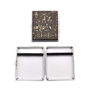 Las cajas de cigarrillos más nuevas de colores 98 mm de plástico de la PU caja de almacenamiento de la piel de alta calidad diseño exclusivo estilo de caballero de alto grado de la venta caliente