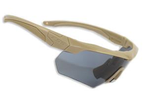 CROSSBOW Brille 3/5 Linsen TR 90 Männer Sonnenbrillen Taktische Mann Armee Kugelsicher Outdoor Airsoft Schießen Jagd Eyewears