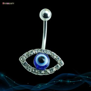 STARBEAUTY exclusivo Eye Piercings Mulheres Homens piercing no umbigo Ombligo Cristal Belly Piercing Nombril fresco Belly Button Rings presente