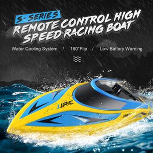 JJR / C JJR / C S2 Tubarão 2.4GHz 2CH 25KM / h Portátil Mini RC Boat Lancha de controle remoto