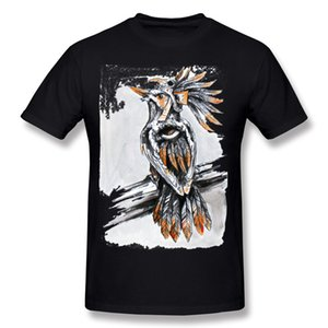 Купоны мужские чистый хлопок птица Хаоса футболка мужская шею темно-синий с коротким рукавом футболка большой размер Brithday футболка