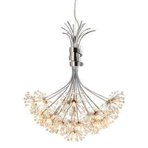뜨거운 현대 크리스탈 샹 들리 G4 13 전구 19 전구 LED 천장 펜 던 트 조명 램프 고품질 LED 빛 샹 들리
