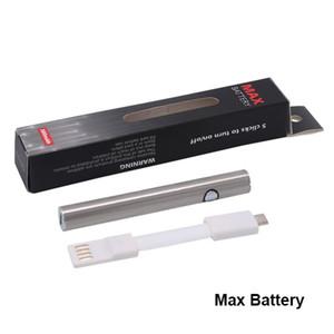 Max Vorwärmbatterie 380mAh Variable Spannung 510 Batterie mit unterer Ladung USB-Kabel für Liberty V1 V5 V9 V16 Ölkartusche