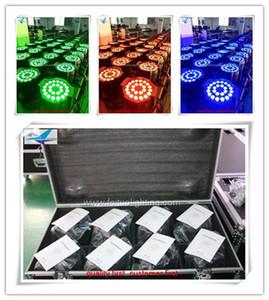 8light + road case 멀티 이펙트 파 라이트 PAR LED 조명기구 24x10W 파 64 Can Black Stage Light