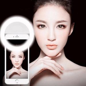 Fotografia Migliorare universale selfie portatile Camera Led Telefono Fotografia Light Ring per Iphone X 8 7 6 5 Samsung Xiaomi