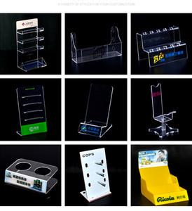Kundenspezifische Acrylausstellungsstand Billboard Schmuck Getränk Ausstellung Display Box Halter Regal Benutzerdefinierte