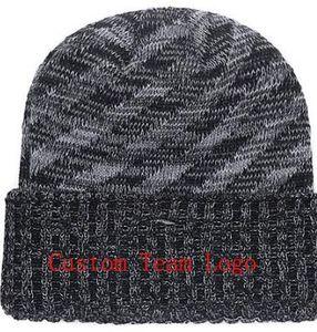 2019 Unisex Otoño Invierno sombrero hombres mujeres Deportes Sombreros Gorro de punto a medida Lado lateral Clima frío Sombrero de punto Suave y cálido Steelers Beanie Skull Cap