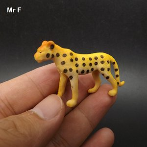 Education Prop Mini Wildlife Model Toy Animal Leopard Kid Toy Game Simulation Cognitive Learning Training Toy