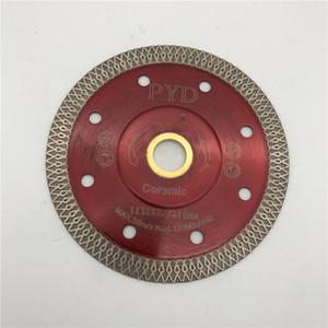Турбо пила Лезвие 4,5 дюйма (115 мм) для фарфора керамической плитки мрамора режущее лезвие Диск алмазный резец диска внутреннее отверстие 22.23 мм или 5 / 8-11