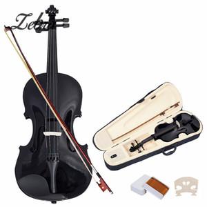 도매 4/4 바이올린 자연 어쿠스틱 Basswood 얼굴 보드 Faddle 바이올린 케이스 상자로 신 활 악기 현악기에 대 한