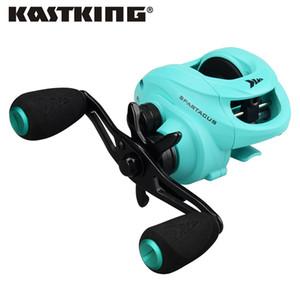 KastKing Spartacus 12BBs Super Light Baitcastingrolle Dual Brake System Süßwasser Baitcasting Angelrolle 8KG Drag
