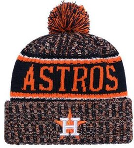 2019 Winter Houston Beanie beanies Skull Hats per Uomo Donna Beanie lavorato a maglia Cappello di lana Uomo Maglia Bonnet Berretti Warm Baseball Skull Cap 00