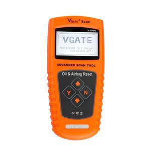 VS900 Vgate OBDII OBD2 сканер диагностический инструмент масло сервис инспекции и транспортных средств подушка безопасности сброс сканирования инструмент