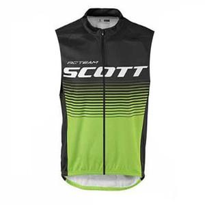 New Summer Scott Ropa deportiva Ropa de ciclismo Ropa de ciclismo transpirable Camisas de bicicleta de secado rápido Mans sin mangas Chaleco de ciclismo M1603