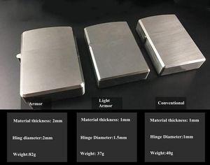 التيتانيوم TC4 النفط أخف كم حالة الثقيلة درع / ضوء درع / التقليدية شل دائم ناعم stonewashed ملتهب للخيار