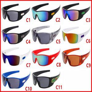 2018 gafas de sol de la marca de las mujeres que conducen las gafas de Galss que completan un ciclo deportes que deslumbran los vidrios de los hombres que reflejan el vidrio de Sun el envío libre