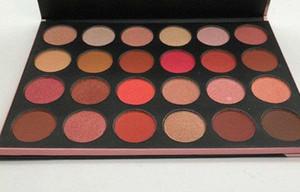 Em Estoque 24G Grand Glam Shimmer Sombra Paletas 45 cores Mulheres À Prova D 'Água Pressionado Em Pó Metálico Fosco Sombra Frete grátis DHL