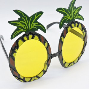 Funny Glasses Festival Party Event Supplies Danza Spettacoli Ananas Modellazione Plastic Cartoon Compleanno Green Hot Sale 3 4mt V