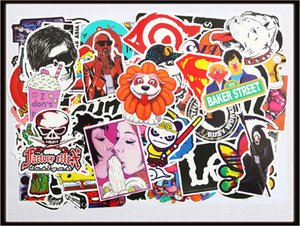 Car sticker Diy stickers 100X posters wall stickers for kids rooms home decor on laptop skateboard luggage wall decals fast shipping