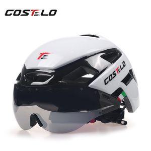 2018 Costelo Велоспорт свет шлем MTB дорожный велосипед шлем велосипед шлем скорость Airo RS Ciclismo очки Безопасные Мужчины Женщины 230 г C18110801