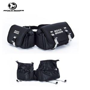 ROCKBIKER Motosiklet Ikiz Paketi eyer çantası motocross su geçirmez yağ tankı alforjas para moto off road motosiklet çantası mochila motociclista