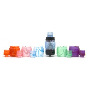 Tubo Valyrian acrilico e Drip Tip Kit di sostituzione del serbatoio in resina Tubo Kit tubo Extended Capacity Kit Valyrian DHL