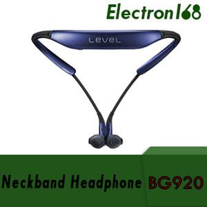 Livello BG920 Auricolare stereo Bluetooth senza fili per cuffie stereo per Samsung S6 S7 Bordo Nota 7 con confezione da 60 pezzi