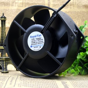 Для Оригинального Японии Royal Fan 17 СМ 17255 220 В 43/40 Вт Полностью Металлический Вентилятор T656DV-TP