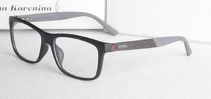 Nouveau produit fibre de carbone miroir jambe super légère plaque homme lunettes courtes vues lunettes cadre de mode lunettes plates GG1045