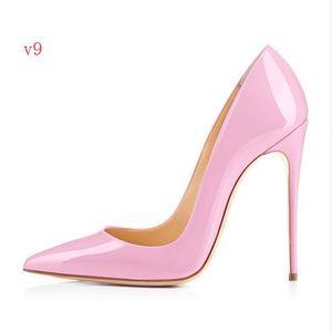 BONA FIDE FASHION 2018 Nova Sapatos de Salto Alto Moda Vermelho Fundo Sapatos de Salto Alto Mulheres Sapatos de Casamento Despertar 8 CM 10 CM 12 CM