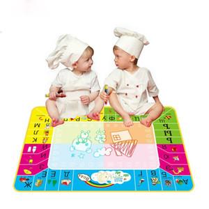 Il nuovo modo russo di acqua dell'illustrazione Mat con la penna magica 1pcs / del russo bambini tavolo da disegno / disegno Regali Mat Children Learning Giocattoli