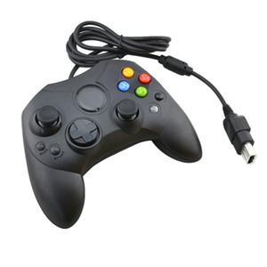 50 piezas lotes Gamepad con cable Joystick Game Controller S Type para Microsoft Xbox Console Juegos Video Accesorios Reemplazo nuevo