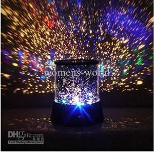 새로운 스타일의 화려한 코스모스 레이저 LED 프로젝터 스타 프로젝터 램프 LED 야간 조명 랜턴 별