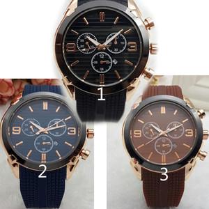 Relogio masculino 45 mm estilo deportivo militar hombres grandes relojes 2019 diseñador de moda de lujo dial negro reloj de silicona único masculino grande
