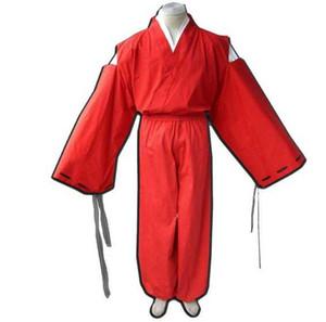 Envío gratis Nueva lencería sexy cosplay Halloween Inuyasha anime COS ropa bellflower traje de bruja kimono COSPLAY traje punto completo uniforme