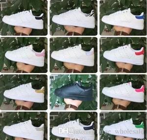 Chegam novas Stan Sapatos Para Homens E Mulheres Sapatilhas Da Moda Amantes De Couro Esporte Casuais Sapatos Smith Zapatos Mujer tamanho grande 36-44 sapatos
