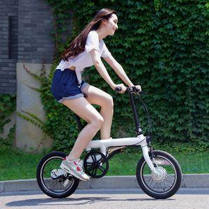 Mijia Qicycle intelligente elektrische Fahrräder Fahrrad tragbare mijia Falten Elektro-Fahrrad Elektro-Fahrrad mit Hilfs