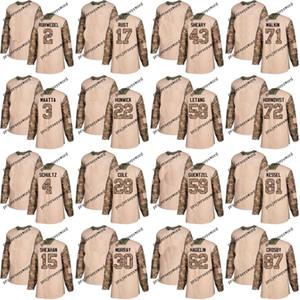 피츠버그 유니폼 재향 군인의 날 연습 30 Matt Murray 58 Kris Letang 71 Evgeni Malkin 81 Phil Kessel 87 Sidney Crosby Jerseys