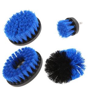 4 PCS de Aço Inoxidável Escova De Nylon De Broca Elétrica Escova Com Peças de Ferramentas de Cerdas Resistentes Usado Para Limpeza E Remoção de Poeira VB